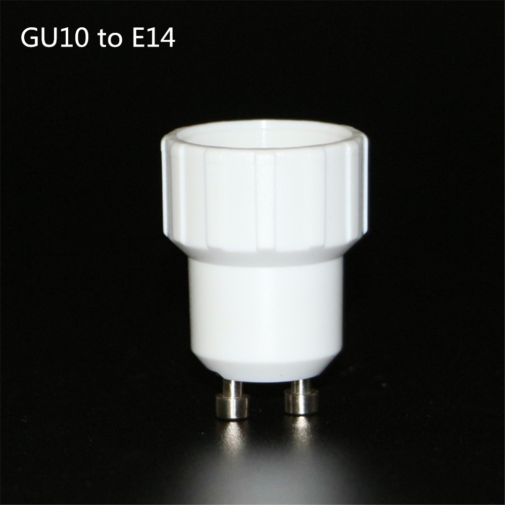 1PCS Fireproof GU10-E14 Lamp Holder Converter Socket GU10 To E14 Lamp Holder Adapter Light Bulb Plug Extender Free Shipping