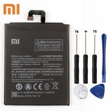 Xiao Mi Xiaomi Mi BM3A Phone Battery For Xiao mi Note3 Note 3 BM3A 3400mAh Original Replacement Battery + Tool все цены