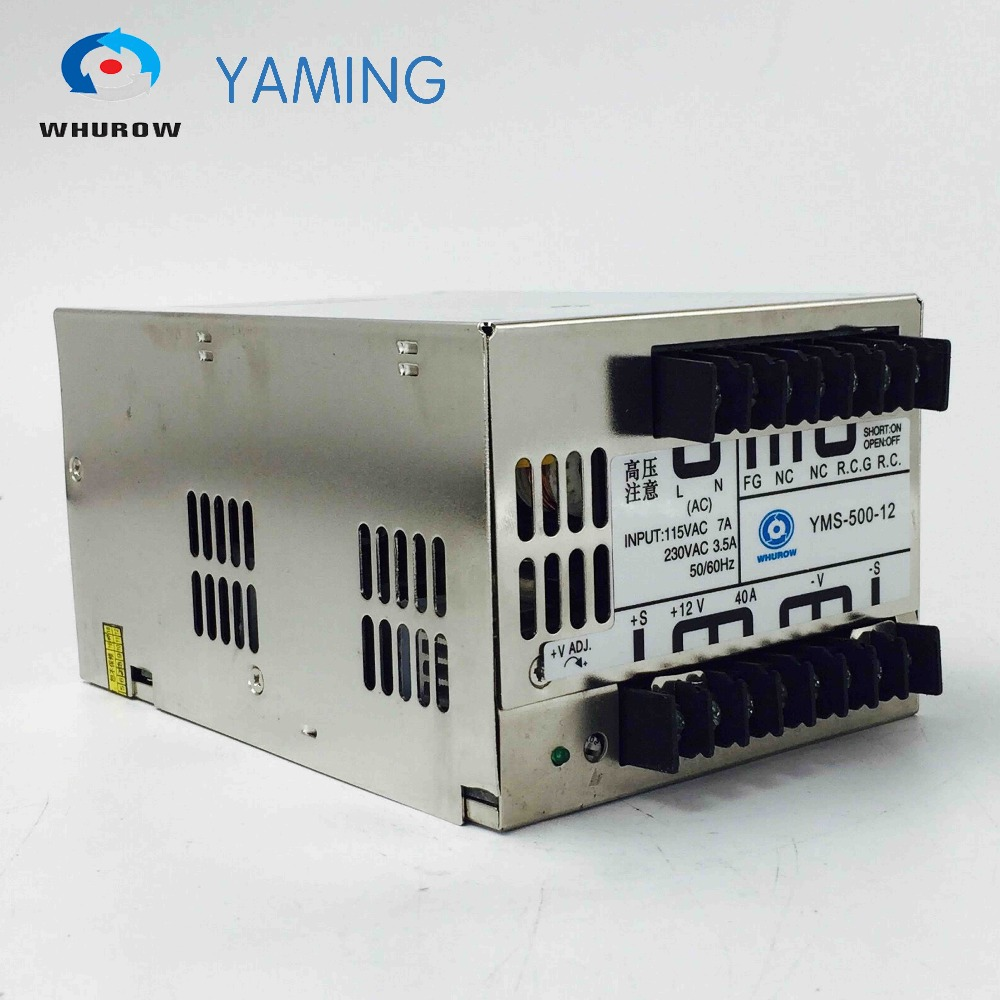 500W 12V 40A Switch Power Supply YMS-500-12 or SP-500-12 Single output alternative power supply converter Industrial SMPS alternative power supply system