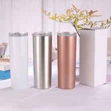 Термос для кофе прямой с двойными стенками термос из нержавеющей
