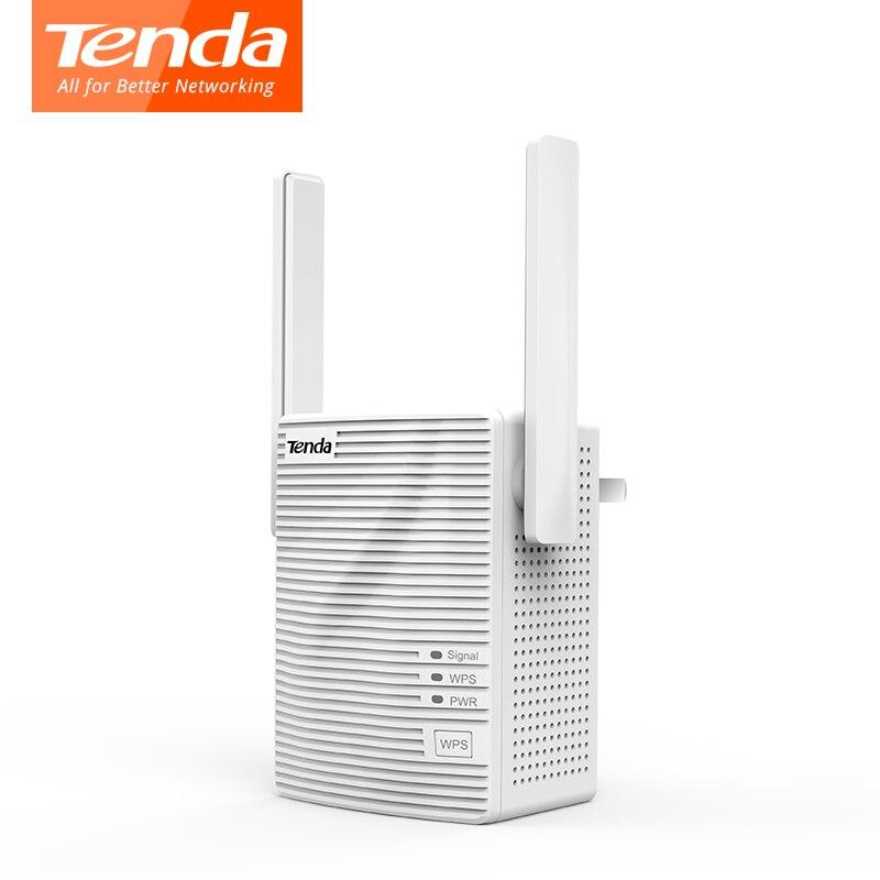 Tenda A18 двухдиапазонный Wi-Fi ретранслятор AC1200Mbps Range Extender усилитель сигнала легко настроить два внешних всенаправленные антенны