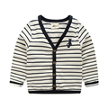 Fashion stripe kids boys cardigans sweater V-neck baby long-sleeve top boy sweatshirt spring and autumn