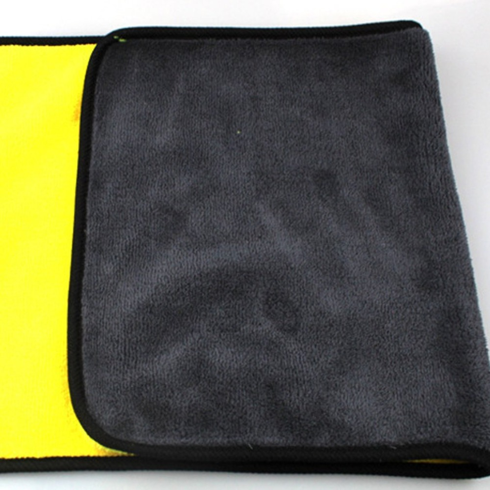 Car Wash Microfiber Towel Car Cleaning Drying ClothThree Size  Hemming Car Care Cloth Detailing Towel