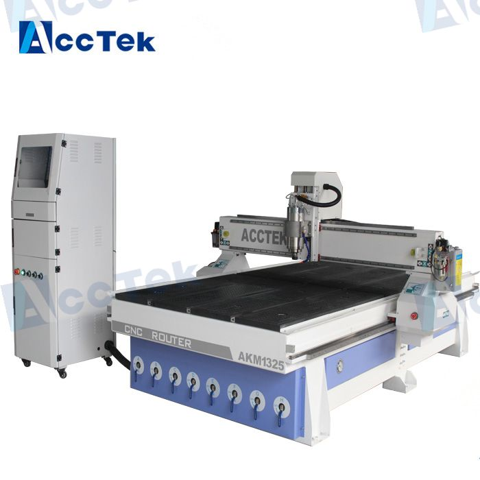 Woodworking Machine Multifunctional Vacuum Table For Wood Door Press / Cnc Router Machine Press PVC Film For Wood Cabinet 1325