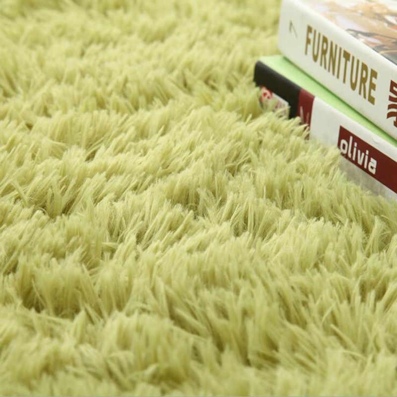 2020 좋은 품질 침실 타원형 카펫 Alfombras 거실 바닥 매트 Doormat 미끄럼 방지 가짜 모피 지역 깔개 가정 용품