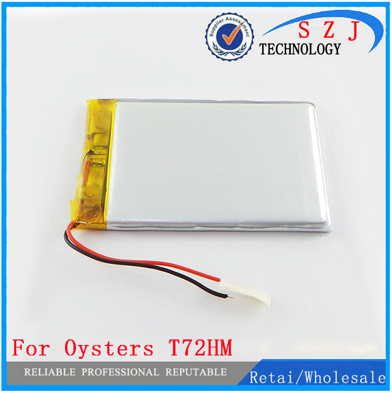 Inner Exchange Battery for 7 Oysters T72HM 3G / Oysters T72ER 3G TABLET 2800MAH Batteries Replacement Repair Parts Free Ship oysters oysters sochi gold edition