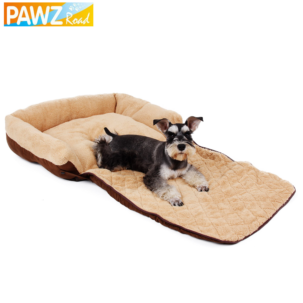 PAWZRoad Super Soft Dog Sofa Pet Cat Bed Dog Cushion Dog Beds Puppy Kennel  Doggy Mats Animals Nest Large Dog House Pet Supplies In Houses, Kennels U0026  Pens ...
