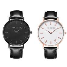 Mens Watches Top Brand Luxury THE FIFT Men Military Sport  Wristwatch Chronograph Leather Quartz Watch relogio masculino все цены