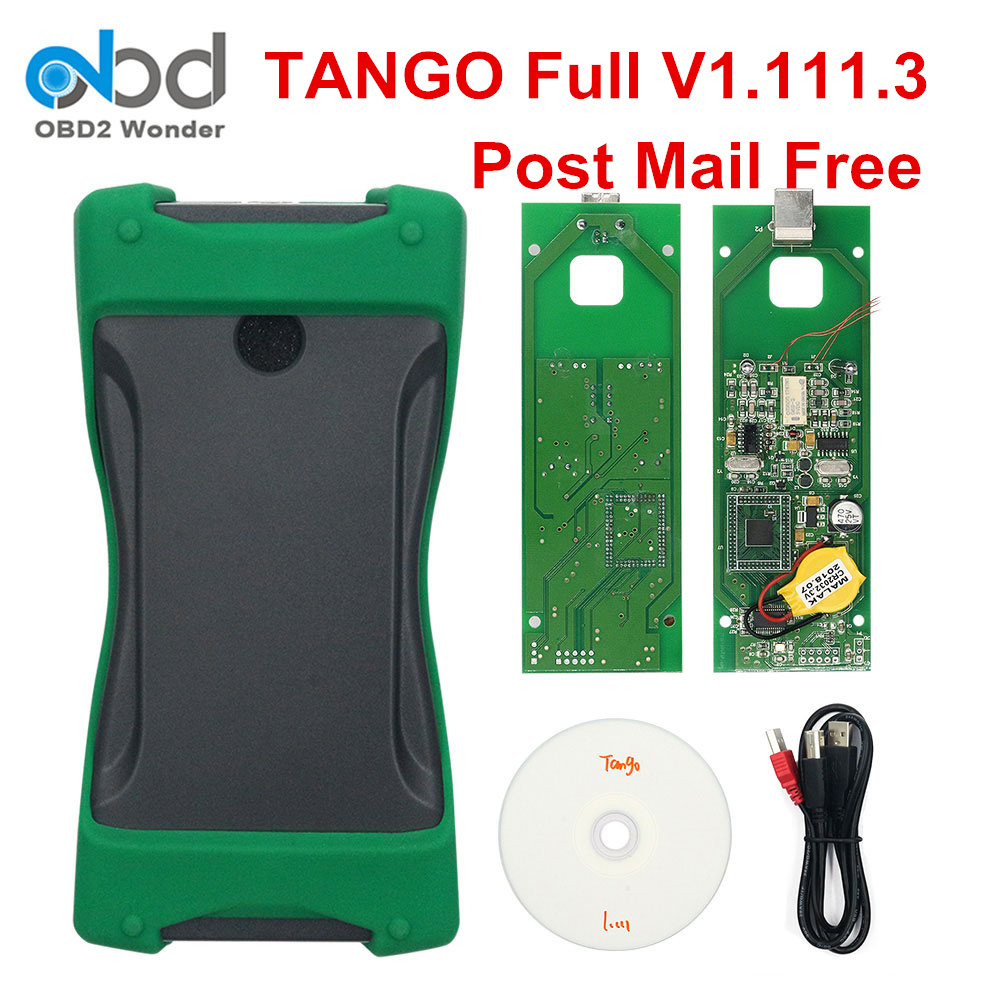 2019 New Tango Auto Key Programmer Full V1 111 3 Software Tango OEM OBDII OBD 2