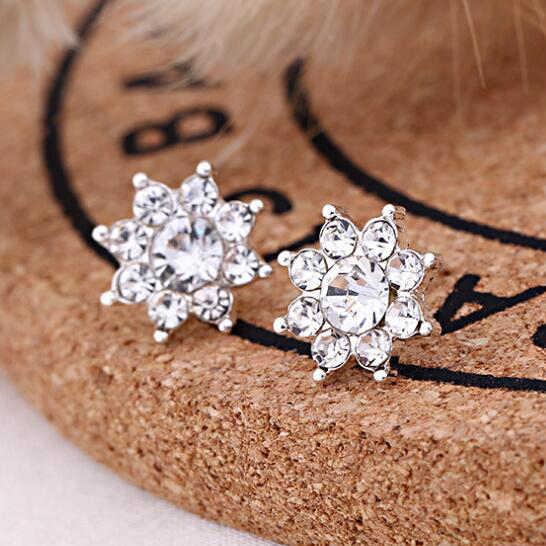 Pendientes para mujeres perla Linda moda para chicas Animal tendencia de joyería conejo flor corazón plata fruta cereza mariposa