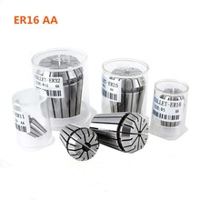 Spring collet ER16 AA high precision spring engraving machine milling cutter collet CNC milling tool lathe cutter spring collet 7pcs set er16 1 32 3 8 spring collet precision spring chuck set 7 types cnc engraving machine