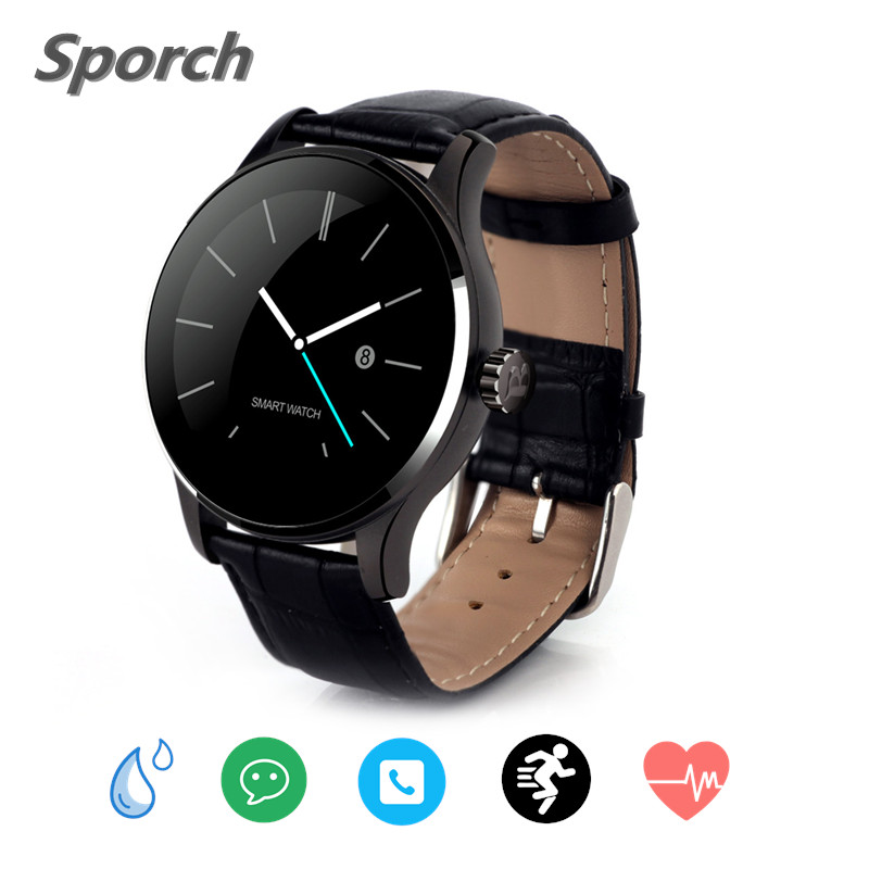 K88H Smart Watch men smartwatch android watch electronic wrist watches smart android watch heart rate monitor For Apple Huawei цены