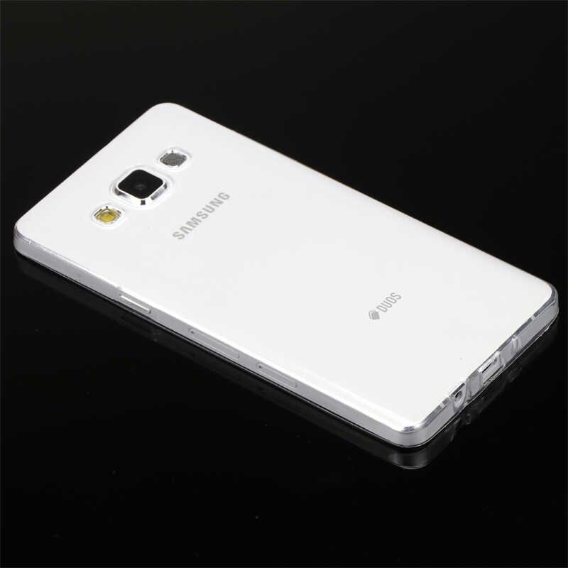 Чехол для Samsung Galaxy A3 A5 A7 2015 2016 2017 A 3 5 7 Duos A300 A310 A320 крышка ТПУ прозрачный силиконовый корпус