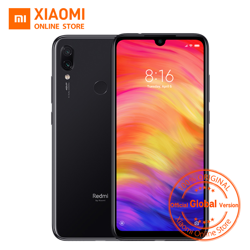Global Version Xiaomi Redmi Note 7 4GB RAM 64GB ROM Smartphone Snapdragon 660 Octa Core 4000mAh 6.3