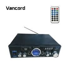 Haute Qualité 2CH Mini HiFi Audio Haut-Parleur Stereo12V AMP Audio Sonore amplificateur avec USB Pour ipod Maison De Voiture MP3 FM BL AMP AK-316