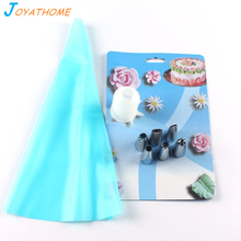 Joyathome 8pcs/Set Stainless Steel Icing Piping Nozzles Pastry for Cake Tools Kitchen Bakeware Decorating