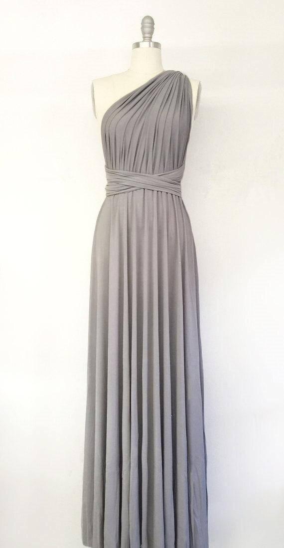 862ff2f1e1 Jersey Convertible Bridesmaid Dresses Custom Made Cobalt Blue V Neck ...