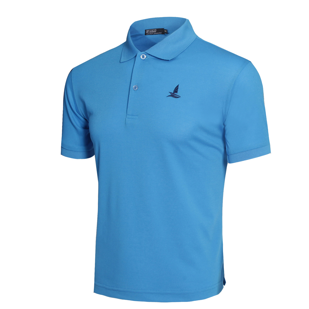 Brand Mens Sport Polo Shirt Golf Shirts Outdoor T Shirts Quick Dry