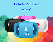 2016 NEW Arrival Colorful font b VR b font Case Mini C Google Virtual Reality 3D
