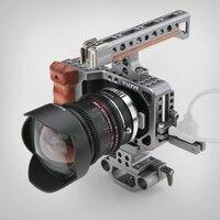 Bmpcc Кейдж DSLR Rig w/DSLR камеры Rig для камеры аксессуары