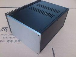 2515 pełna aluminium pojedynczy chłodnicy klasy A wzmacniacz podwozie/AMP Shell/Case/DIY Box (253 * 150*311mm)
