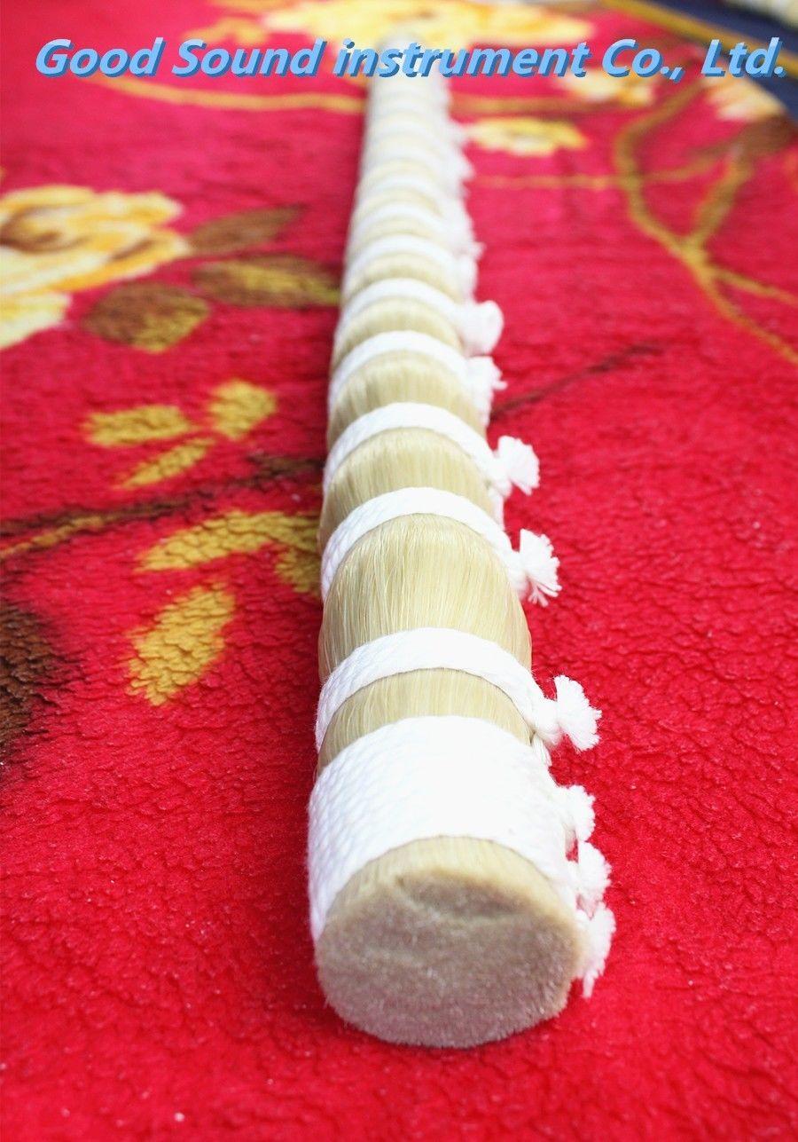 1000g AAA violon alto violoncelle mongolie naturel blanc arc cheveux cheval queue 94 cm