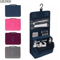 Beautician Women Fashion Waterproof Nylon Cosmetic Bag Travel Toiletry Wash Makeup Storage Cosmetic Organizer Makeup Bag