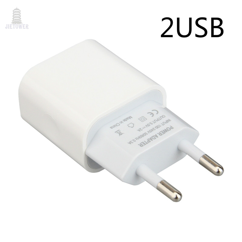 US $179.16 |100 pcs Dual USB Charger Mobile Phone EU Charger Plug Travel Wall Charger Adapter For iPhone iPad Samsung Xiaomi Phone Charger|ACDC