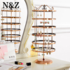 NEW ARRIVAL 6 Layers Round 288 Holes Earrings Shelf Jewelry Display And Hanger For Earring