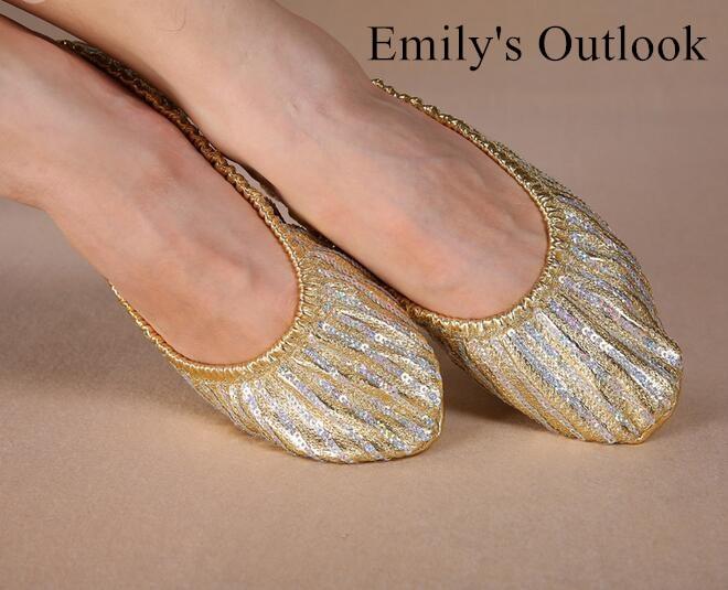 Men and women dance practice shoes ballet soft bottom ... |Practice Ballet Shoes