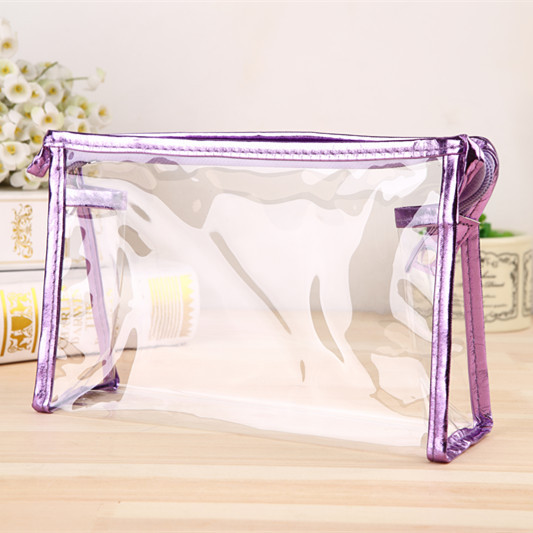 Transparent Portable Make Up Women Makeup Organizer Bag Girls Cosmetic Bag Toiletry Travel Kits Storage Bag Hand Mujer Bolsas