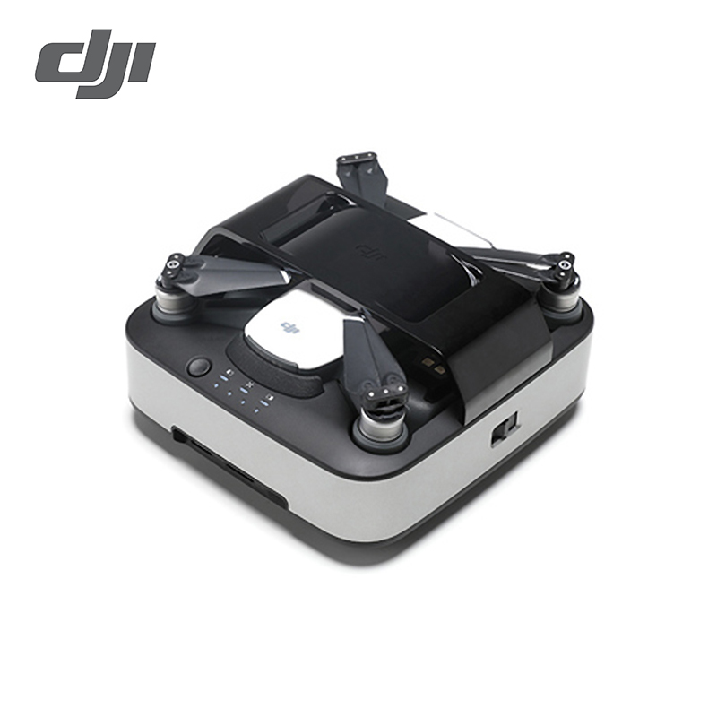 Spark Portable Charging Station Intelligent Flight Battery Charger For DJI Spark Drone Charge Three Batteries