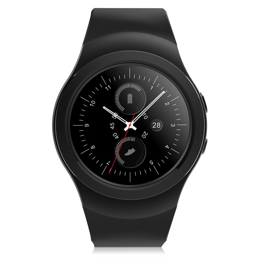 imágenes para No. 1 g3 + smart watch bluetooth 4.0 frecuencia cardíaca monitor de sueño remoto cámara música función anti-perdida teléfono inteligente para el sistema operativo android