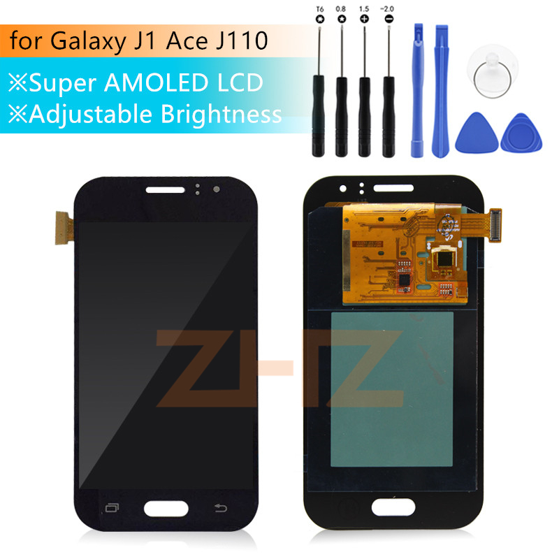 For Samsung Galaxy J1 Ace J110 LCD Display Touch Screen Digitizer Assembly for Galaxy J1 Ace J110M J110F J110G J110L LCD Display