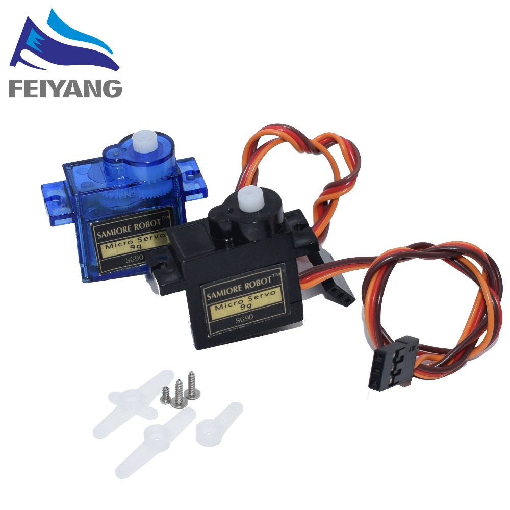 1PCS Rc Mini Micro 9g Servo SG90/MG90S for arduino RC 250 450 Helicopter Airplane Aeroplane Car Boat