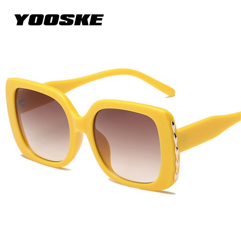 YOOSKE Luxury Oversized Sunglasses