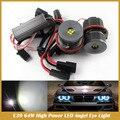 Супер Яркий Canbus Ошибка Бесплатный E39 32 Вт High Power LED Маркер Angel Eyes Лампы Для E39 E53 E60 E63