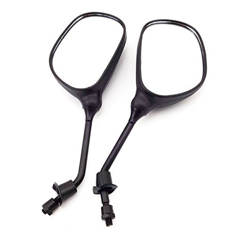 8mm Motorcycle Rearview Mirror For Moped Scooter ATV Quad Pit Dirt Motor Bike