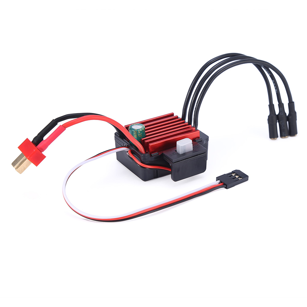 GTSKYTENRC Waterproof <font><b>35A</b></font> <font><b>ESC</b></font> Electric Speed Controller for RC 1/16 1/14 RC Car 2838 2845 Brushless Motor image