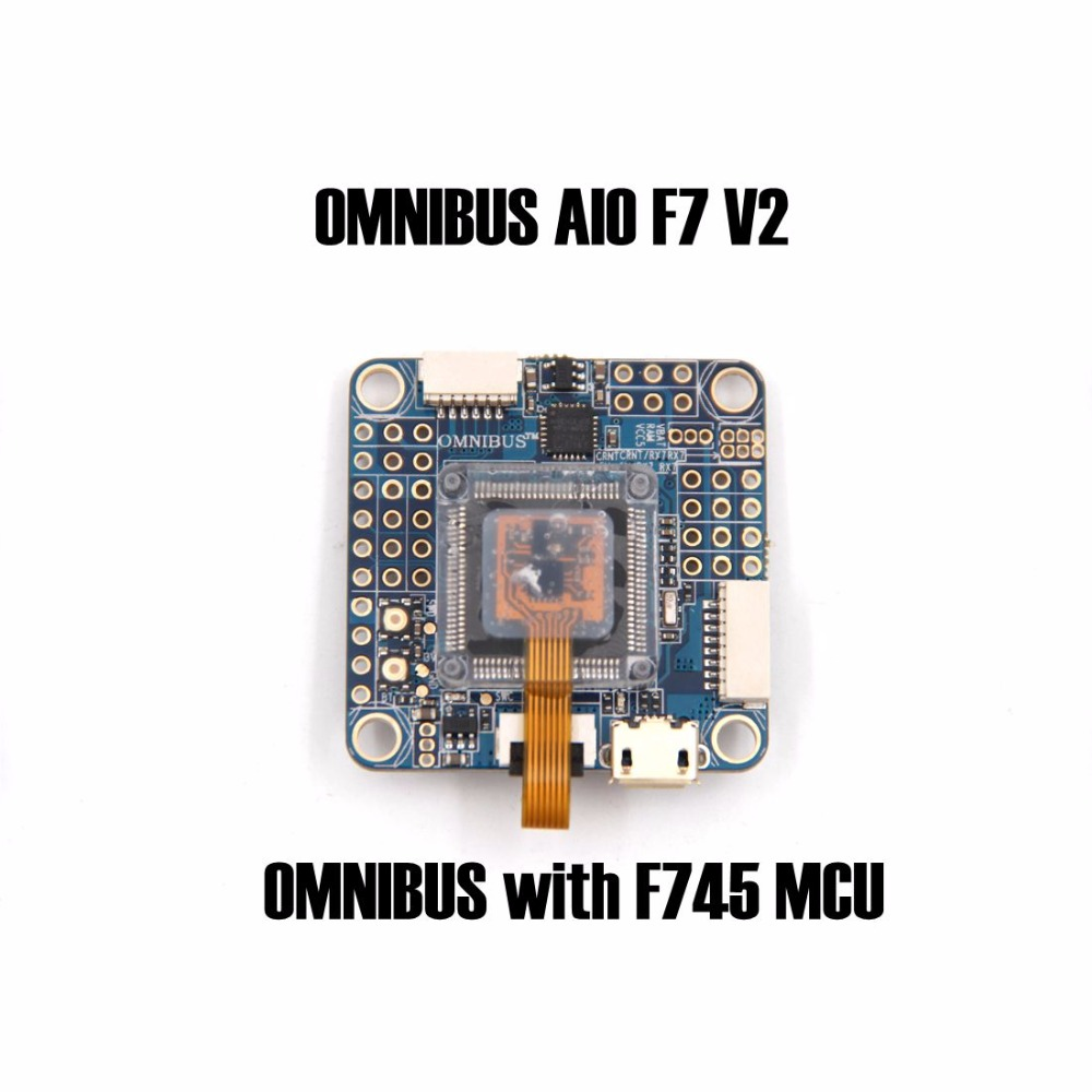 OMNIBUS AIO F7 V2 Flight Controller Board OMNIBUS with F745 MCU For RC FPV Racing Cross Drone Quadcopter