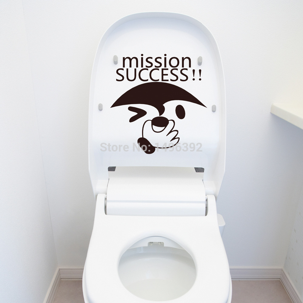 26 Styles Funny Bathroom Stickers Toilet Sticker Cartoon Wall Sticker  Fridge Sticker Wall Decal In Wall Stickers From Home U0026 Garden On  Aliexpress.com ...
