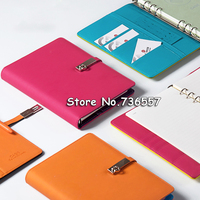 New A5 candy agenda planner organizer Dokibook notebook Loose leaf notebook for gift Spiral Notepad Office Stationery