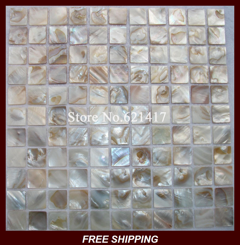 Mother Of Pearl Mosaic Shell Mosaic Tiles Backsplash Bathroom