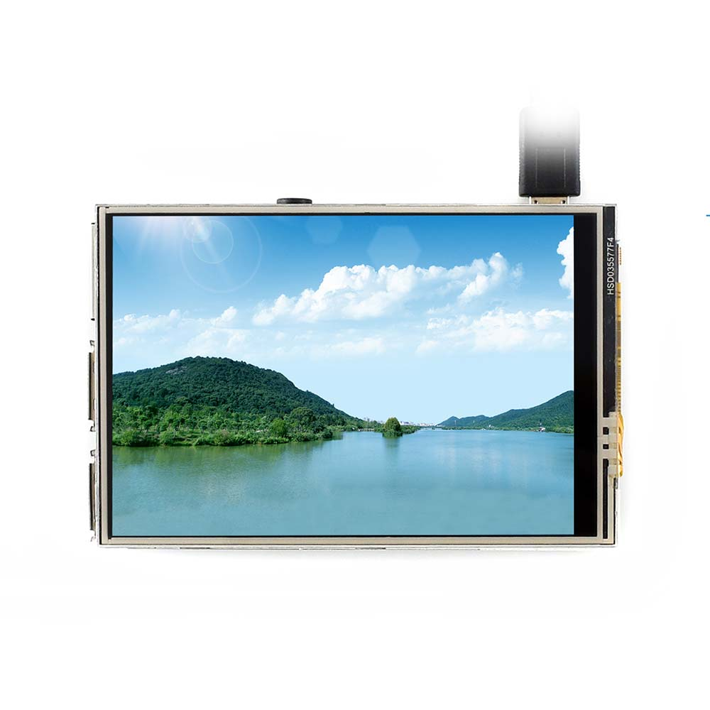 480x320 3.5 Inch Touch Screen TFT LCD Designed For Raspberry Pi 125MHz High-Speed SPI
