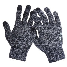 Warm Wool Winter Touchscreen Gloves
