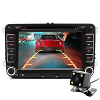 Junsun 7 Inch 2 Din Car DVD GPS Radio Player For VW Golf 5 6 Touran
