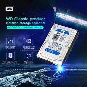 Image 2 - WD 1TB Blue 3.5 SATA 6 GB/s HDD sata internal hard disk 64M 7200PPM  drive desktop hdd for PC WD10EZEX