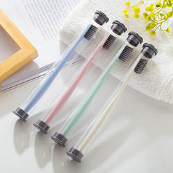 Bamboo Charcoal Мягкая Щетина зубная щетка 1 шт. зубная щетка для взрослых новый магазин Акционная цена купить 2 шт. будет поставлять Бесплатный