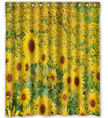 CHARMHOME Standard-Store Custom Amazing and Beautiful Sunflower Shower  Curtain(China (Mainland) - High Quality Sunflower Shower Curtain-Buy Cheap Sunflower Shower