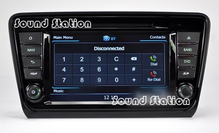 for skoda octavia rapid 2013 2014 a5 auto car dvd radio. Black Bedroom Furniture Sets. Home Design Ideas